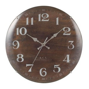 ドームガラスのレトロ調電波時計 Padmela old(パドメラオールド)