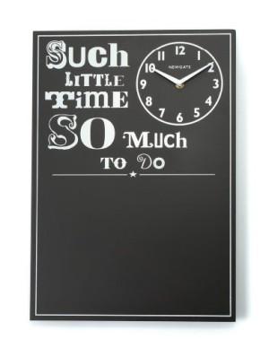 NEWGATE製 アンティークテイストな黒板クロック