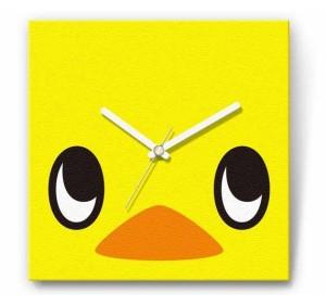 チキンラーメンのマスコット 「ひよこちゃん」のファブリッククロック