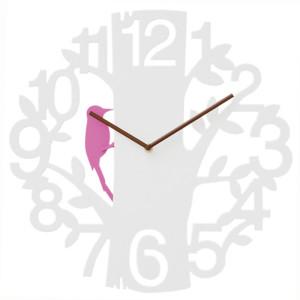 キツツキが時を刻むアートな振り子時計  PICUS(ピークス)
