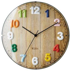 カラフルな文字盤の北欧風電波時計VOYAGE(ボヤージュ)