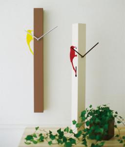 シンプルミニマムなキツツキの振り子時計 PICUS-2