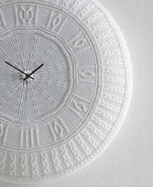 洗濯できる時計、イタリア製Cotton Clock。