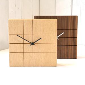 盤面に刻まれた縦横のラインで時間を読み取る、LINEDCLOCK(ラインドクロック)。