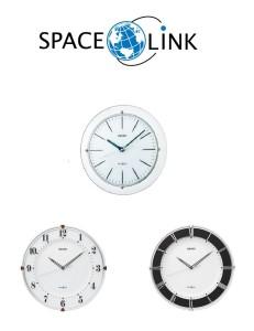 SEIKO製 世界初の衛星電波時計「スペースリンク」