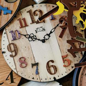 お洒落なカフェスタイルの電波時計 AMBERG(アンベルク)