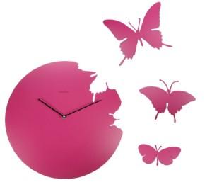 さなぎを破り蝶は舞う。イタリア生まれのBUTTERFLY CLOCK