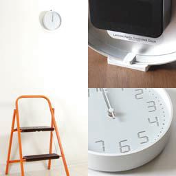 Lemnos製 デジタル数字の電波時計 「Seven-Seg 」