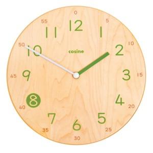 木の家具専門店 COSINE製 「子供のための時計」