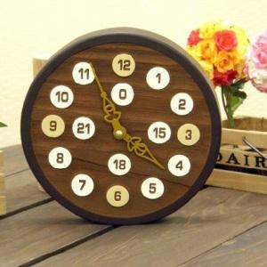 知慧工房デザイン ナチュラル&アンティークな掛け時計