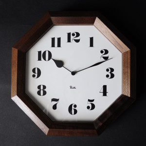 渡辺力の隠れた名作 飾らない上品さが魅力「八角の時計」