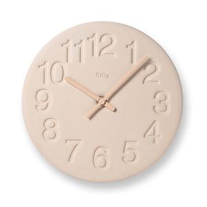Lemnos(タカタレムノス)製 淡い色合いが美しい「珪藻土」の時計。