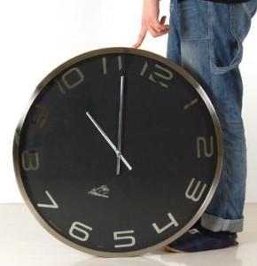 直径60センチの特大時計、IGウォールクロック60。