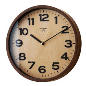 木を贅沢に使用したモダンテイスト電波時計 DARYL(ダリル)