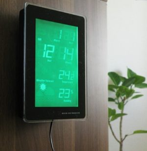 多機能LCDクロック TIDE