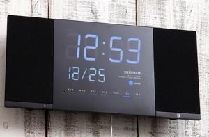 Bluetoothで音楽が楽しめる近未来系LEDクロック 「TOKIOTO」