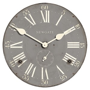 NEWGATE製 ミッドセンチュリーな雰囲気漂うグレーの掛け時計