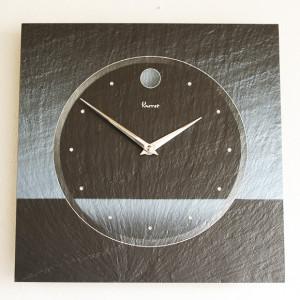 石のプロフェッショナルが造る天然石の掛け時計。